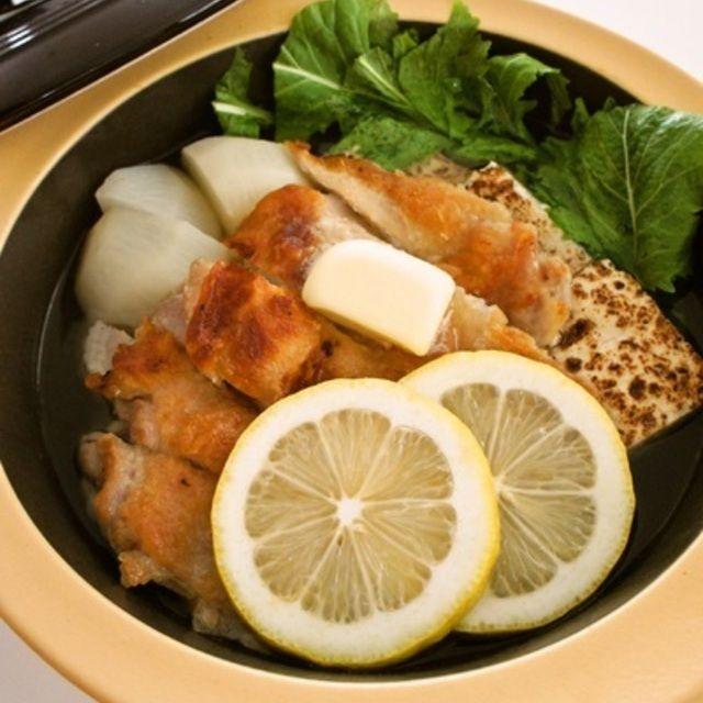 ガーリックチキンのバターレモン鍋 | レシピブログ