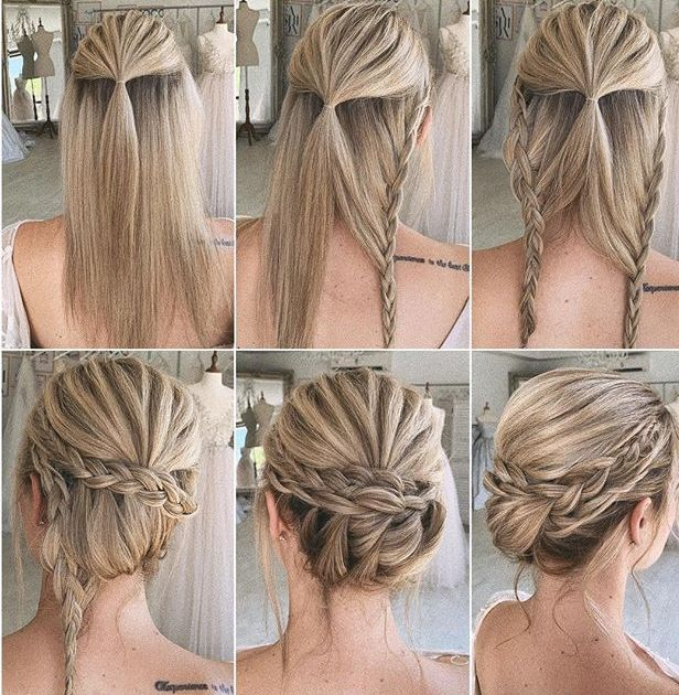 Pin By Felicia Vasquez On Hair In 2020 Diy Wedding Hair Wedding Hairstyles Tutorial Hair Styles