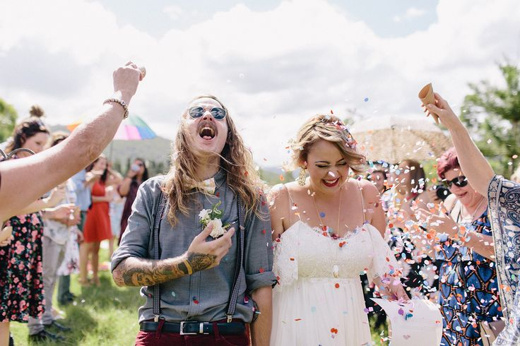"""   Jazzy Connors Photography    Confetti after they said """"I Do"""" www.jazzyconnors.com"""