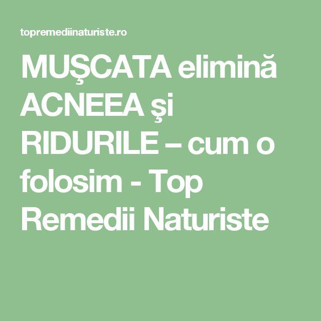 MUŞCATA elimină ACNEEA şi RIDURILE – cum o folosim - Top Remedii Naturiste