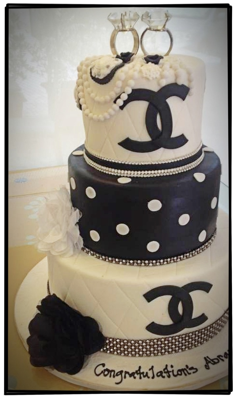 Vintage Black Amp White Chanel Cake Absolutely Gorgeous