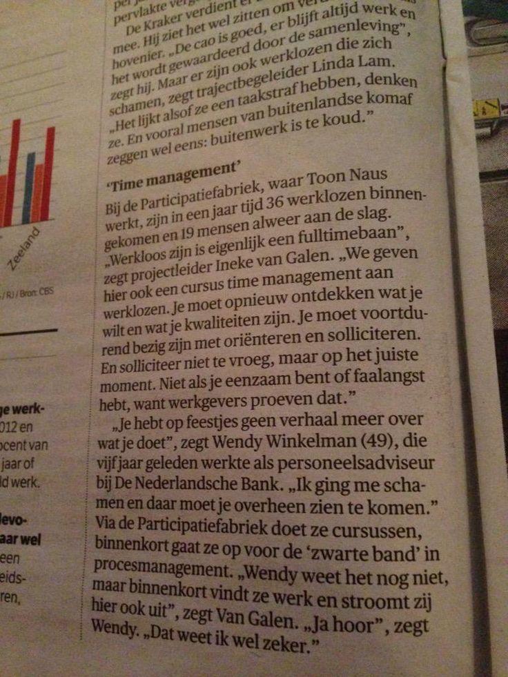 Werkzoekend? Zet timemanagement in! http://www.ivg-inspireert.nl/timemanagement-voor-werkzoekenden/…