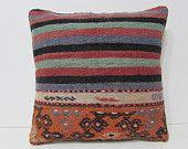 sofa cushion 18x18 kilim pillow bohemian pillow cover extra large cushion bed decorative pillow kilim floor pillow couch pillow case 28903