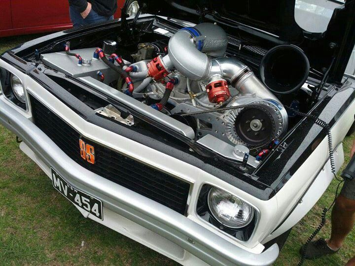 Epic Blown Holden Torana
