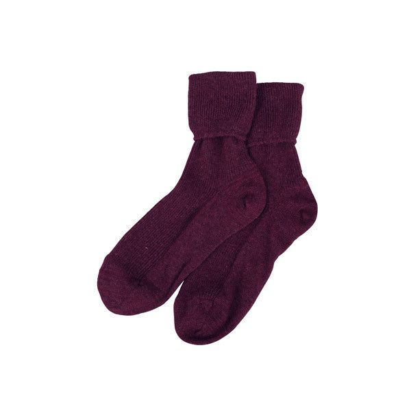 Cashmere Socks - Women's Cashmere Socks | Brora (44 AUD) ❤ liked on Polyvore featuring intimates, hosiery, socks, accessories, socks and tights, socks/tights, brora, cashmere wool socks and cashmere socks