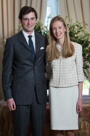 Principe Amedeo del Belgio Arciduca Asburgo/Este pretendente de jure del Ducato di Modena e la futura sposa