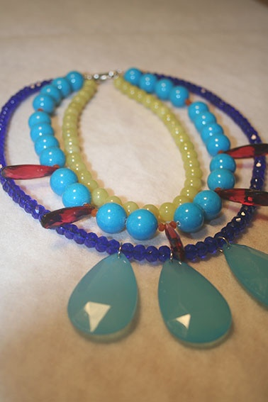 Statement jewelry for Trinny & Susannah season 3 on TV-Norway, filming these days!  Please like farmhousedesign on Facebook