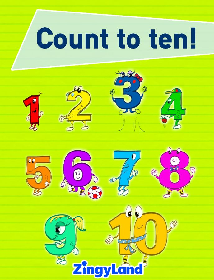 Kids learn to count from 1 to 10! A funny story for kids 5-8. Find more educational stories in ZingyLand App.