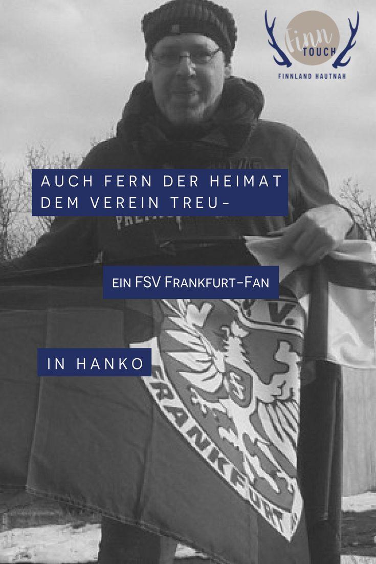 Auch fern der Heimat dem Verein treu – ein FSV Frankfurt-Fan in Hanko   #fsv #fsvfrankfurt #frankfurt #fußball #fan #finnland #finland