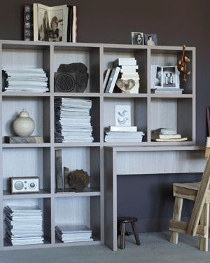 vtwonen wooninspiratie open boekenkast annex werkplek