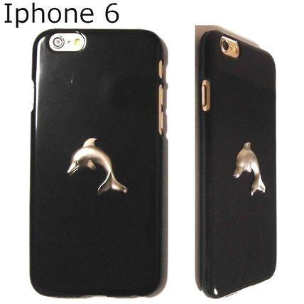 シルバードルフィン! かわいい iphone6ケース CaseCavern 即納