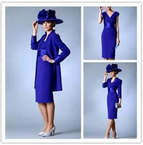 Plus Size Tea Length Royal Blue Royal Blue Mother Of The Bride Dresses ...