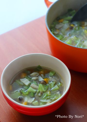 たっぷり野菜&きのこのデトックススープ by 管理栄養士&フード ...