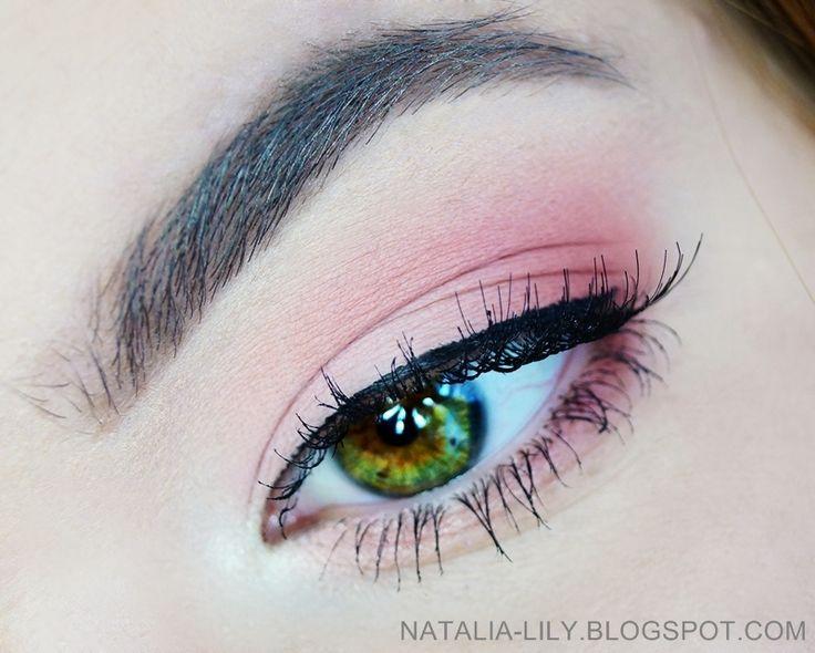 natalia-lily: Beauty Blog: Makijaż: Delikatny makijaż w odcieniach matowego łososia