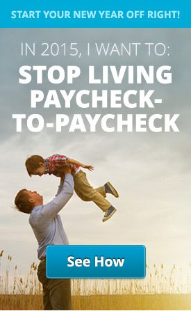 Stop Living Paycheck-To-Paycheck