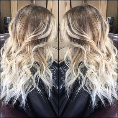 Pucker Up Style: Balayage (hand painting) hair color ideas.