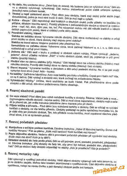 AKTIVITY S DĚTMI - Pracovní listy