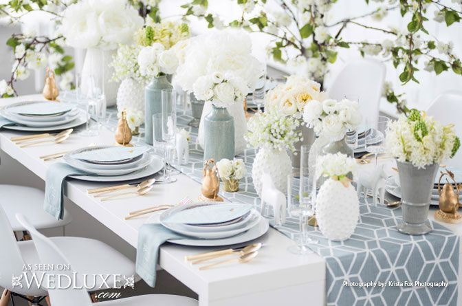 """Scandinavian Style Shoot featured in WedLuxe Magazine's """"Inspired by Wanderlust"""" Issue 