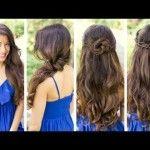 Video thumbnail for youtube video 3 acconciature facili e veloci per capelli lunghi | Le Shampiste