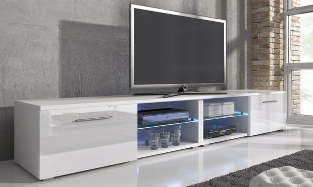 Samuel TV Cabinet with LED Lighting from £69.98 With Free Delivery