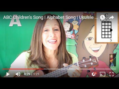 ABC Children's Song | Alphabet Song | Ukulele Chords | Patty Shukla - YouTube