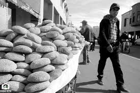 Image result for black and white bread