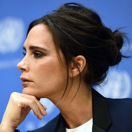 The sensible but messy chignon - one big dose of hair envy via Victoria Beckham, because of course. Get inspired by her hair evolution at www.redonline.co.uk