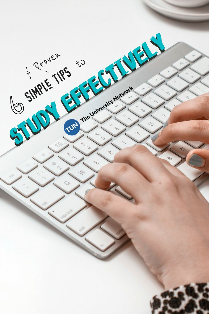 STUDY SMART | Here are 6 proven ways to study effectively.