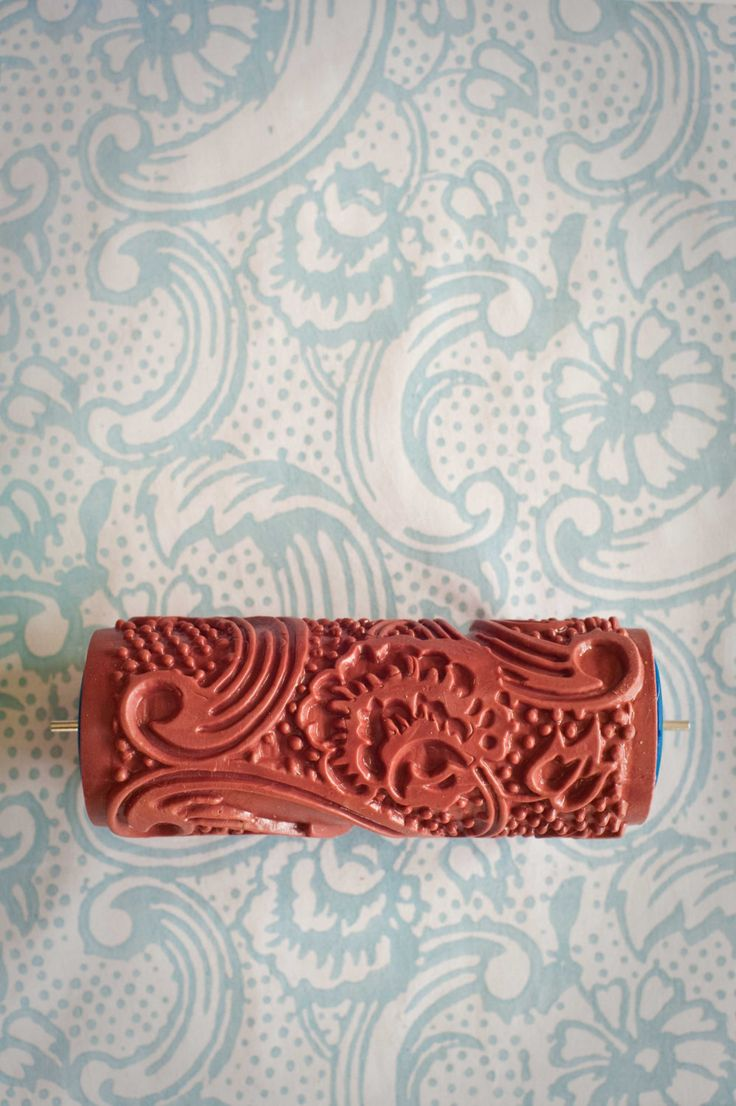 No. 7 Patterned Paint Roller from The Painted House. £15.00, via Etsy.