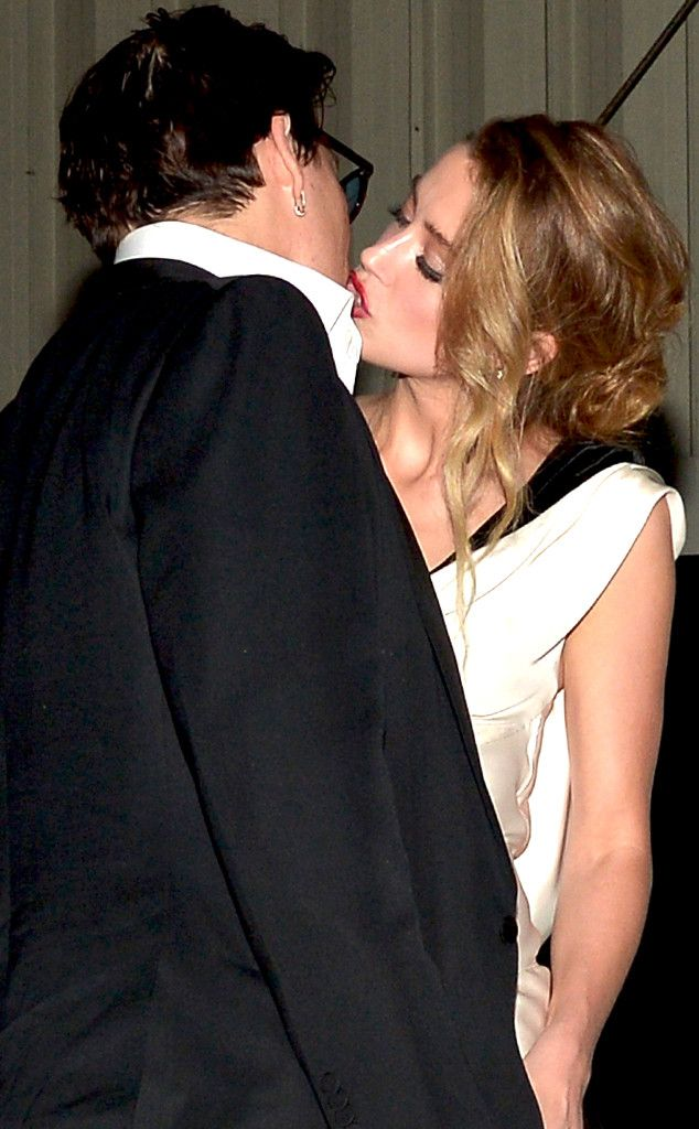 Johnny Depp and Amber Heard Are Married! click to read article