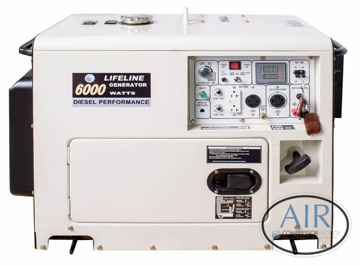 6000 Watt Portable Diesel Generators for Sale - SILENT :)  picclick.com
