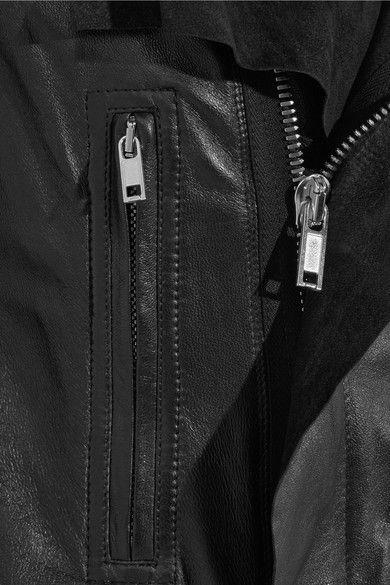 Rick Owens - Leather Biker Jacket - Black - IT40