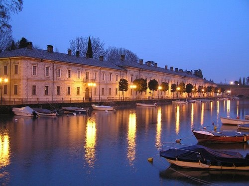 The harbour of Peschiera