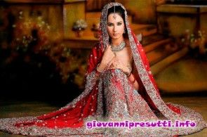 red indian wedding dresses 2015