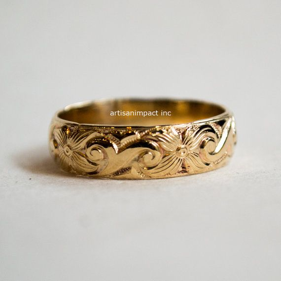 Yellow gold ring  unisex wedding band  gold filled band  boho ring  bohemian408 best Rings  images on Pinterest   Rings  Wedding bands and  . Hippie Wedding Rings. Home Design Ideas
