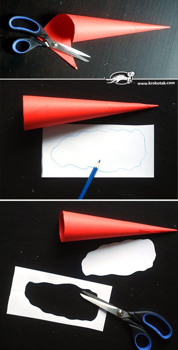 Paper Santa Claus