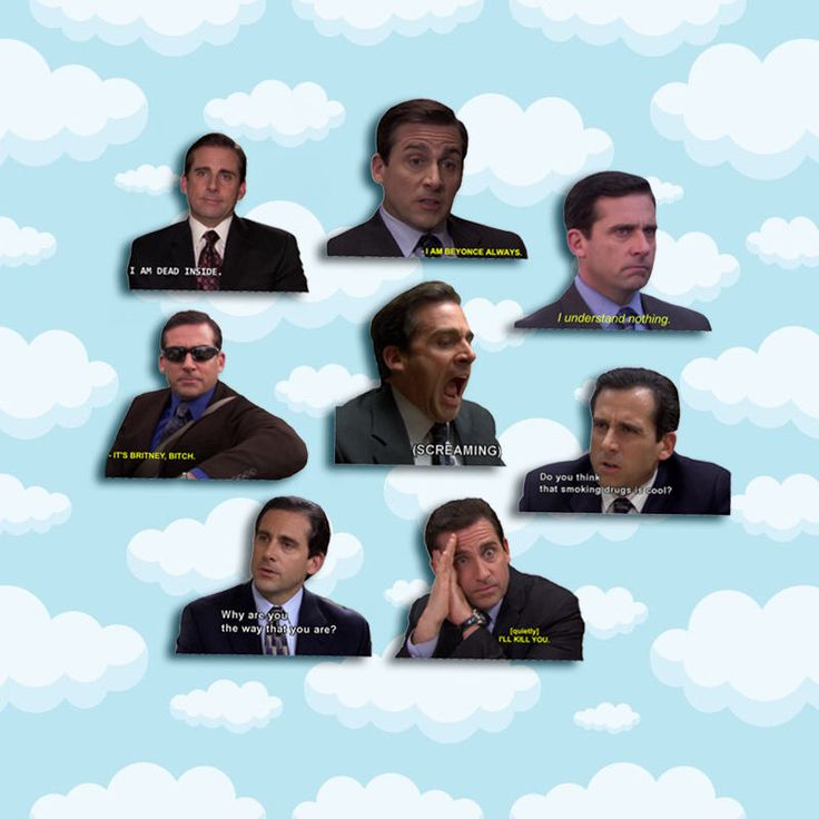 "Michael Scott Quotes Sticker Pack 8 ct 2 x 1.5"" - The Office Tv - Office Michael - Office Tv Show - Michael Scott - The Office Tv Gift by LoyalNinja on Etsy https://www.etsy.com/listing/550138024/michael-scott-quotes-sticker-pack-8-ct-2"
