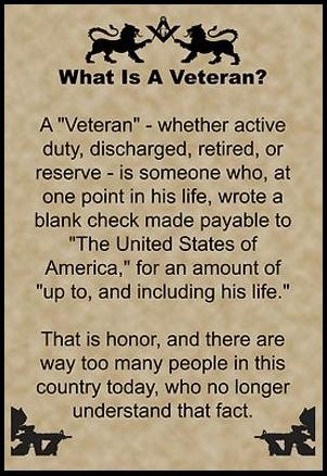 What Is A Veteran?