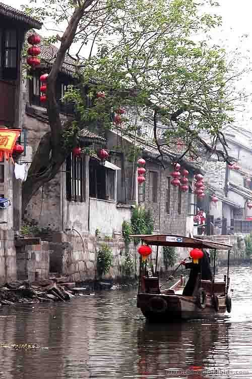 Fengjing Ancient Town in Shanghai China   - Explore the World with Travel Nerd Nici, one Country at a Time. http://TravelNerdNici.com