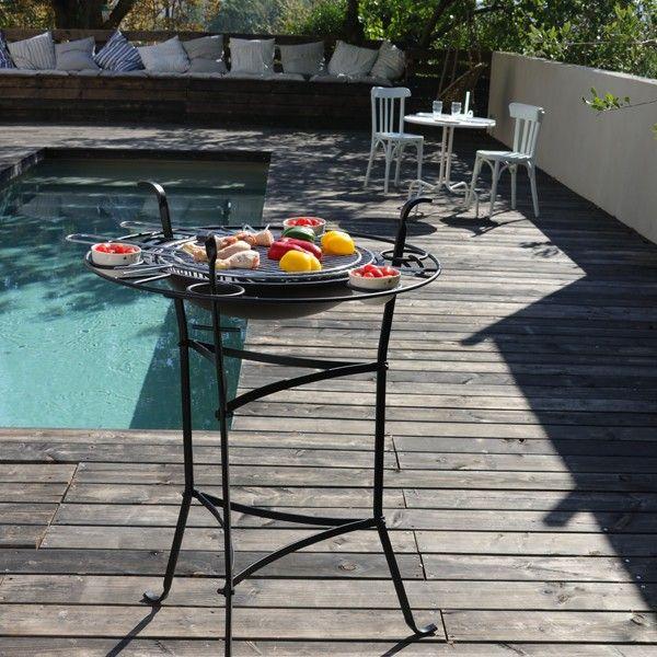 Les 25 meilleures id es de la cat gorie bbq charbon sur pinterest barbecue charbon le - Table jardin barbecue creteil ...