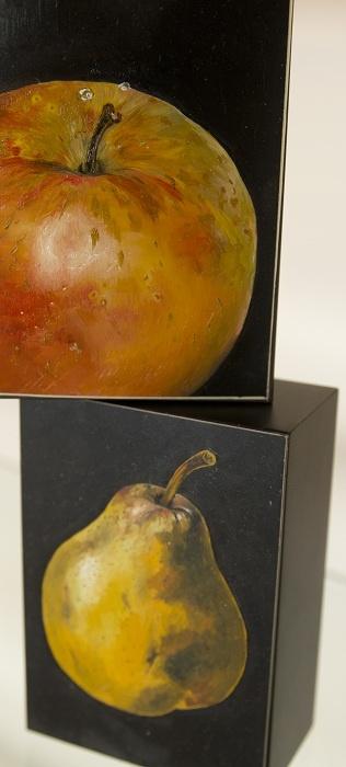Block Mounted Miniatures by Lois Bury - - Tasmanian artist