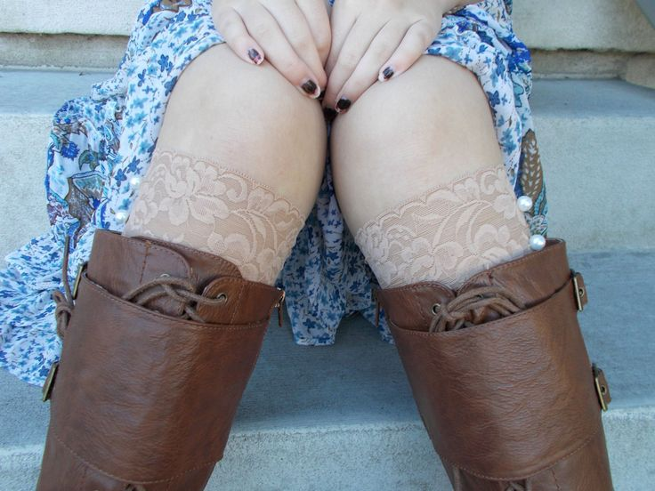 Buff Lace Boot Cuffs, Lace Boot Socks Buttons, Stocking Stuffers for Teen Girls, Small Gifts for Women, Lace Leg Warmers, Boot Accessories by foreverandrea on Etsy