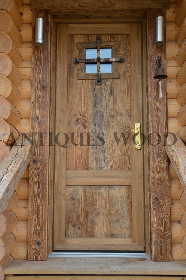 Portes en vieux bois