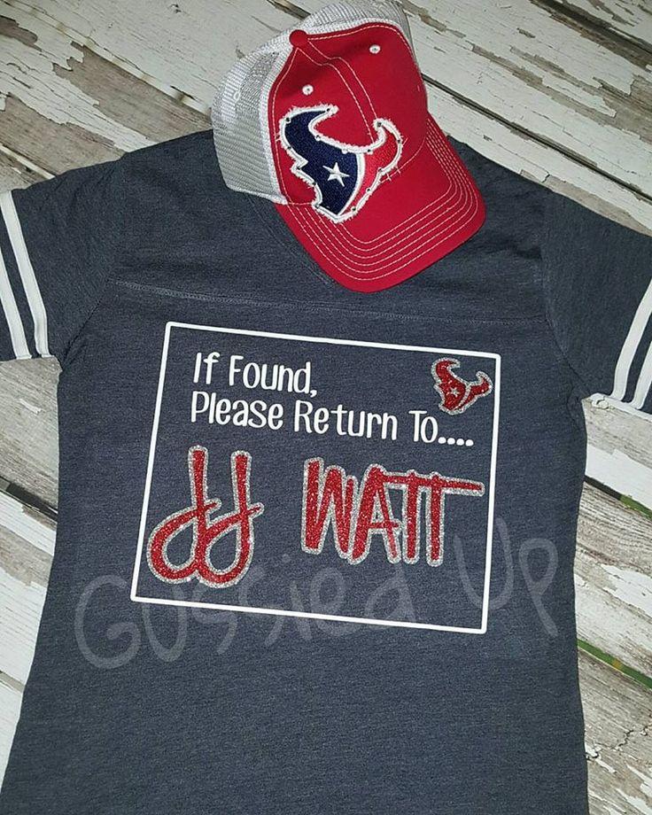 If Found Please Return to JJ WATT Label Shirt