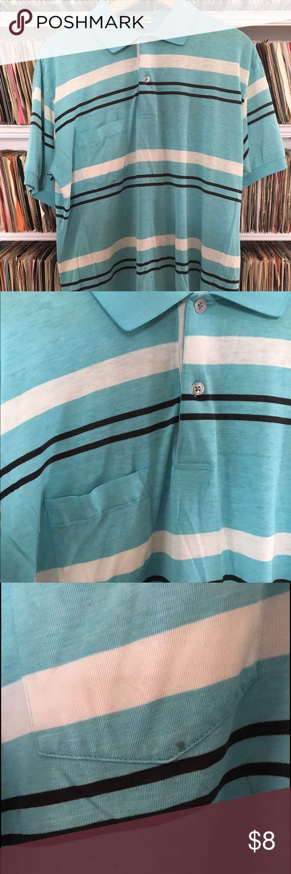 Vintage Arnold Palmer thin soft golf shirt This is a cool Arnold Palmer polo shirt. It has small spots in a few places but overall I think it still looks cool. Vintage Shirts Polos