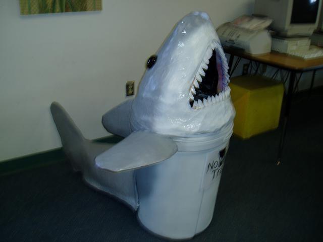 Making A Paper Mache Shark Head Google Search Paper