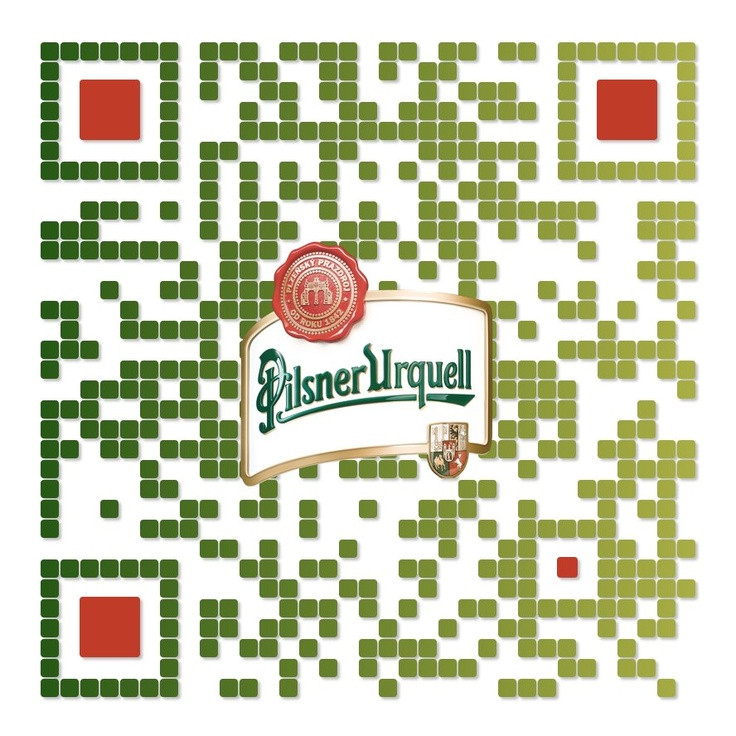 QR code: Enjoy your beer ;) Created by iQR codes.