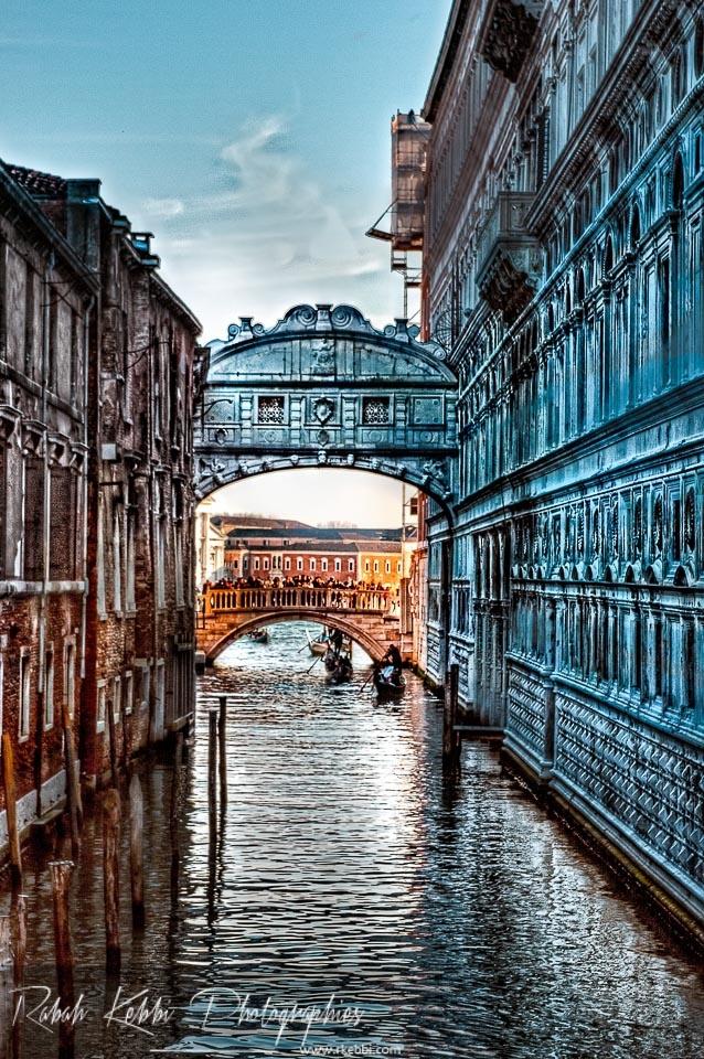 Venise : Le pont des soupirs (Ponte dei sospiri)