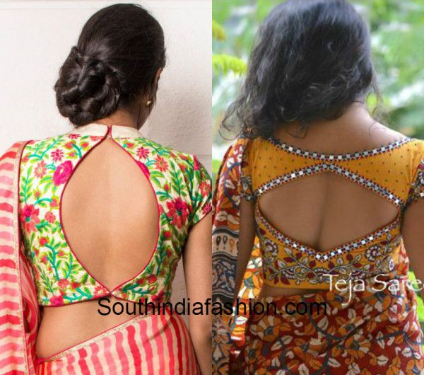Cut Out Saree Blouses