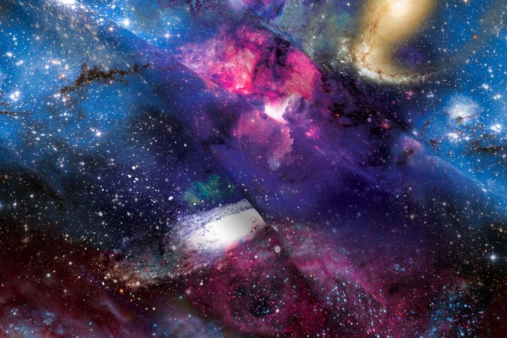 Galaxy Fabric - Galactic Dreams By Xoxotique - Abstract Galaxy Space Cotton Fabric By The Yard With Spoonflower by Spoonflower on Etsy https://www.etsy.com/listing/505893714/galaxy-fabric-galactic-dreams-by